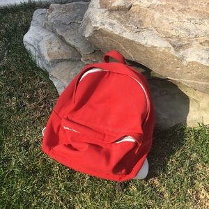 Brandy Melville Red Mini Backpack never used
